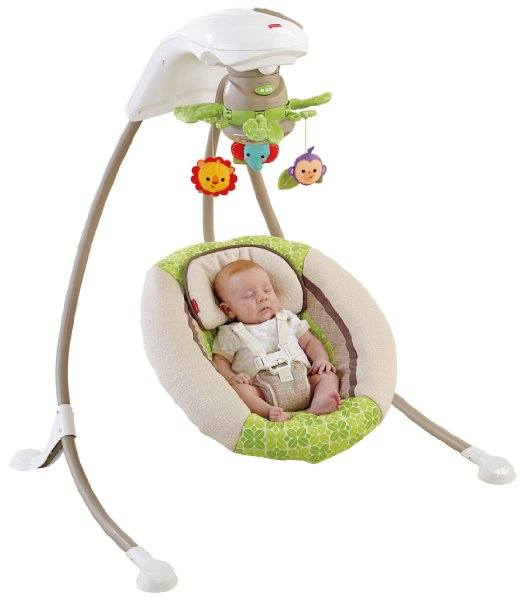 Fisher-Price Deluxe Cradle n Swing