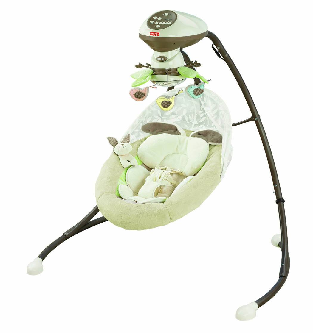 Fisher-Price Snugabunny Cradle N Swing