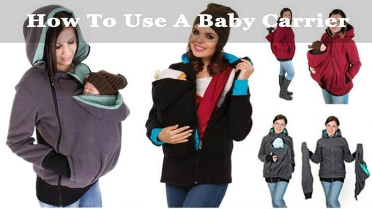 how to use a baby carrier