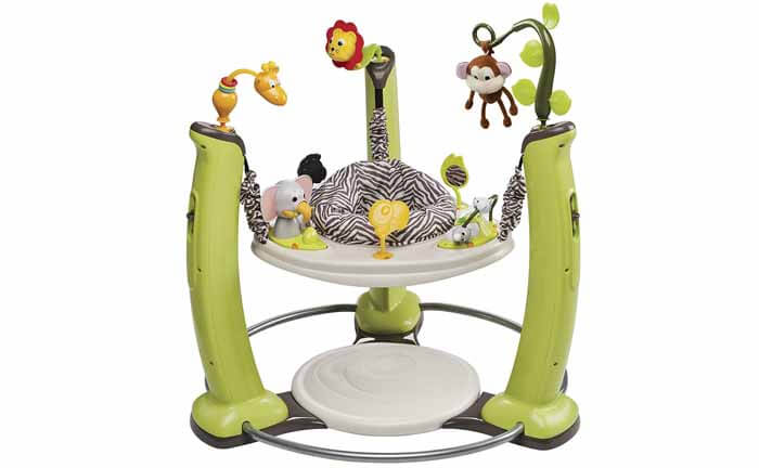 EvenfloExerSaucer Jump and Learn Jumper