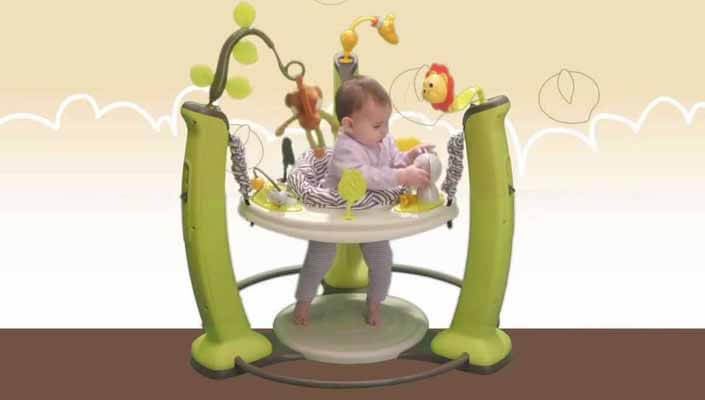 EvenfloExerSaucer Learn Jumper